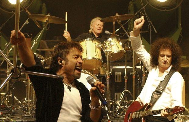 Argentina el baterista del grupo de rock arbol coge a una fan - 4 3